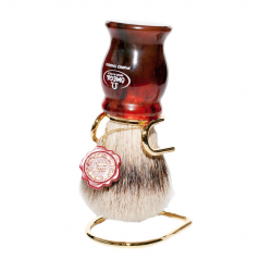 Omega 622 Badger Hair Shaving Brush (with stand)