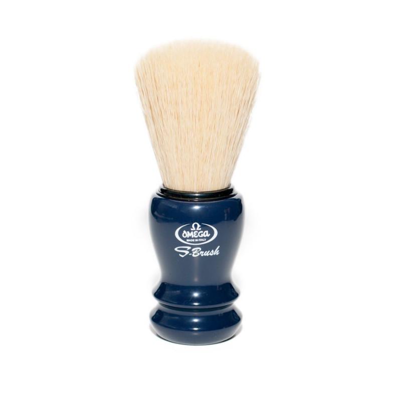 Omega S10108 S-Brush Synthetic Boar Shaving Brush