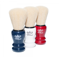 Omega S10108 S-Brush Synthetic Boar Shaving Brush