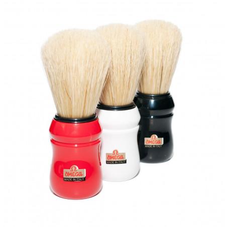 Omega 10049 - 100% Boar Bristle Shaving Brush