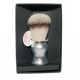 Omega 46229 single brush (plastic satinized handle ) in gift box