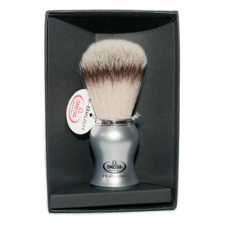 Omega 46229 single brush (plastic satinized handle ) in gift box
