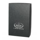 Omega 46229 -partasuti (satinoitu muovivarsi ) lahjapakkauksessa