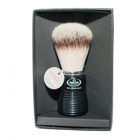 Omega 46081single brush (plastic handle) in gift box