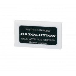 Razolution Razor-blades, stainless - 10 pcs box
