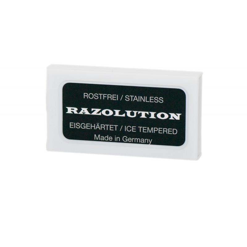 Razolution Razor-blades, stainless - 10 pcs box
