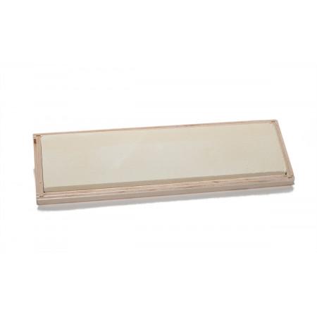Thüringer-Bankstein micro-fein F2000V (Keramik) - 200 x 50 x 13 mm in wooden case