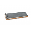 The Genuine Water Hone [200 x 50 x 20 mm] with slurry stone, wooden case