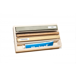 Sharpening Stone Set 200 for razors with non-slip base