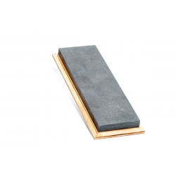 Black Arkansit Stone, 205 x 66 x 13 mm in wooden case