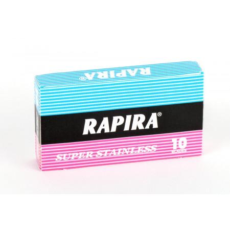 Rapira Classic Super Stainless DE Razor Blades - 10 pcs