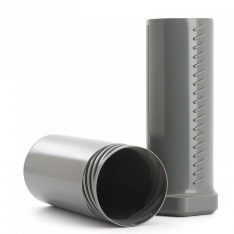 Round protective tube for shaving brush from MÜHLE