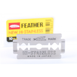 Feather Double Edge Razor Blades (10 pcs)