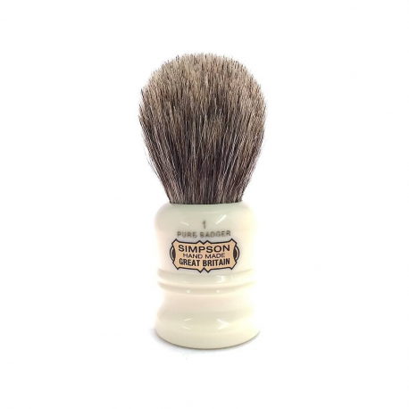 Simpsons 'The Duke' Shaving Brush 90 mm Pure Badger