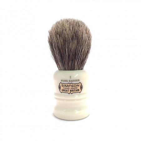 Simpsons 'The Duke' Shaving Brush 90 mm Pure Badger