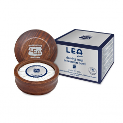 LEA Classic Shaving Soap in Wooden Bowl 100g