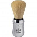 Omega S10108 S-Brush -partasuti, synteettistä karvaa (kromattu)