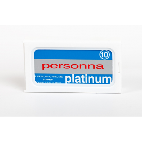 Personna Platinum-Chrome Super Stainless DE (10 pcs)