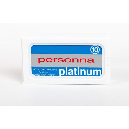 Personna Platinum-Chrome Super Stainless DE (10 pcs)