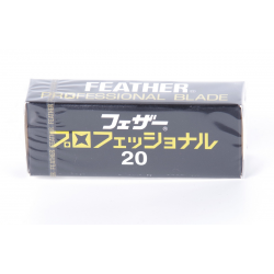Feather Professional -partaterät (20 kpl)