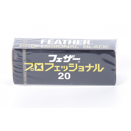 "Feather ""Professional"" Blades (20 pcs)"