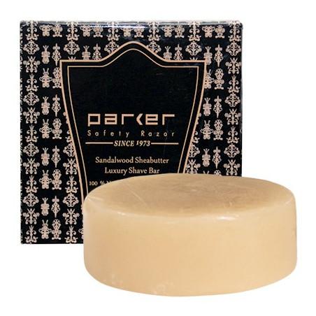 Parker Premium Sandalwood & Shea Butter Shaving Soap in Box (100 g)
